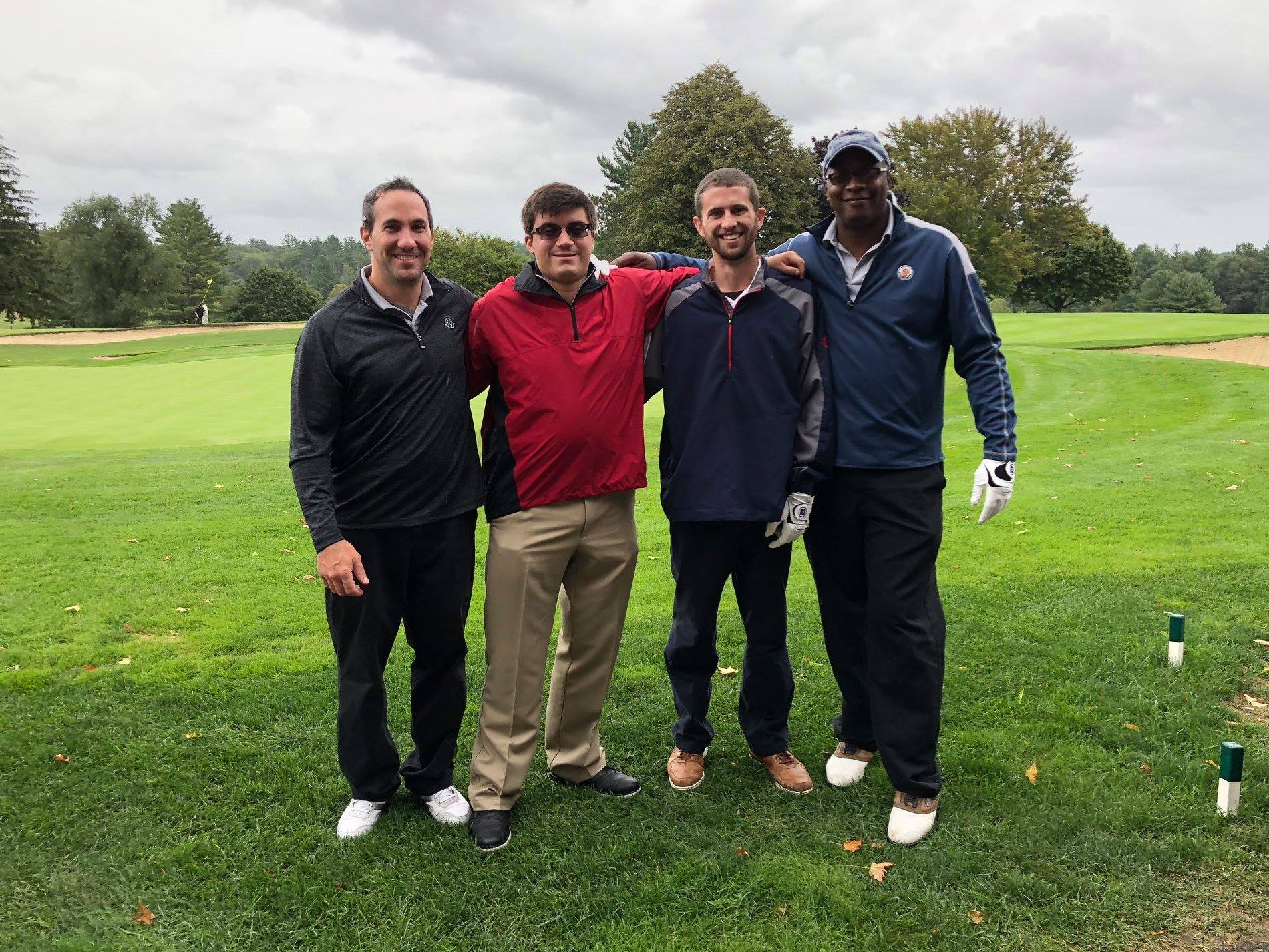 golf-foursome-with-travis
